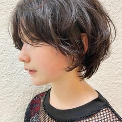 ショートヘア ハンサムショート 大人ショート ミニボブ ヘアスタイルや髪型の写真・画像