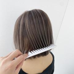 切りっぱなしボブ ボブ ウルフカット 透明感 ヘアスタイルや髪型の写真・画像