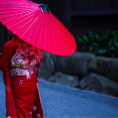 着物 ヘアアレンジ ショート 成人式 ヘアスタイルや髪型の写真・画像