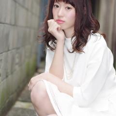 夏 ブラウン 外国人風カラー 大人かわいい ヘアスタイルや髪型の写真・画像