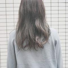 ベージュ グラデーションカラー 外国人風カラー ロング ヘアスタイルや髪型の写真・画像