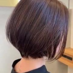 ショートヘア エレガント ショートボブ ショート ヘアスタイルや髪型の写真・画像