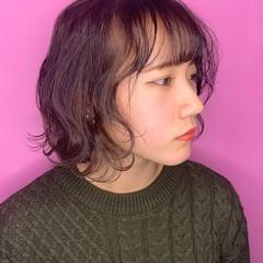 アッシュベージュ アッシュグレージュ アッシュグレー ボブ ヘアスタイルや髪型の写真・画像