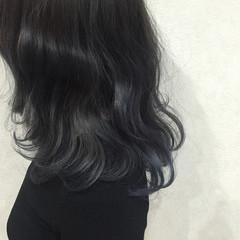 外国人風 暗髪 ゆるふわ ガーリー ヘアスタイルや髪型の写真・画像