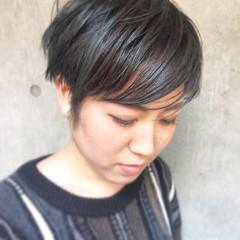 ストリート 簡単ヘアアレンジ 外国人風 黒髪 ヘアスタイルや髪型の写真・画像