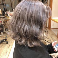 外国人風カラー アンニュイほつれヘア ボブ ストリート ヘアスタイルや髪型の写真・画像