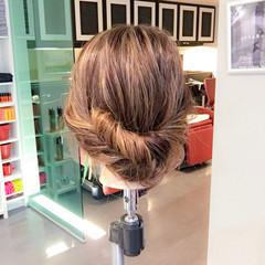 上品 雨の日 オフィス デート ヘアスタイルや髪型の写真・画像