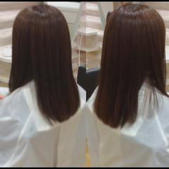 髪質改善カラー 髪質改善トリートメント ロングヘア ナチュラル ヘアスタイルや髪型の写真・画像
