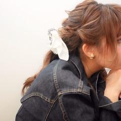 外国人風 大人かわいい 簡単ヘアアレンジ ショート ヘアスタイルや髪型の写真・画像