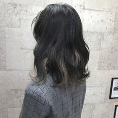 モード ブリーチ 外国人風 ミディアム ヘアスタイルや髪型の写真・画像