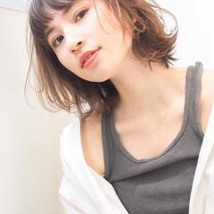デート 女子力 ボブ フェミニン ヘアスタイルや髪型の写真・画像