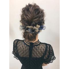 ヘアアレンジ 結婚式 大人女子 小顔 ヘアスタイルや髪型の写真・画像
