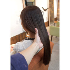 オフィス ロング デート アウトドア ヘアスタイルや髪型の写真・画像