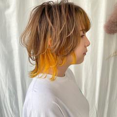 ミニボブ ウルフカット 切りっぱなしボブ ボブ ヘアスタイルや髪型の写真・画像