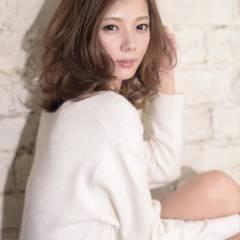 フェミニン 大人かわいい 愛され モテ髪 ヘアスタイルや髪型の写真・画像
