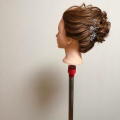 結婚式 ブライダル 夜会巻 和装ヘア ヘアスタイルや髪型の写真・画像