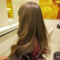 ガーリー イルミナカラー ダブルカラー 外国人風 ヘアスタイルや髪型の写真・画像