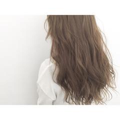 フェミニン ゆるふわ 外国人風 アッシュ ヘアスタイルや髪型の写真・画像