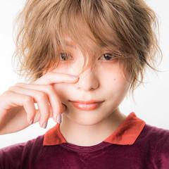 ストリート ハイトーンカラー ショートボブ ショートヘア ヘアスタイルや髪型の写真・画像