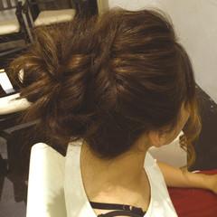 ロング ゆるふわ ヘアアレンジ ガーリー ヘアスタイルや髪型の写真・画像