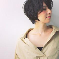 黒髪 色気 大人女子 ナチュラル ヘアスタイルや髪型の写真・画像