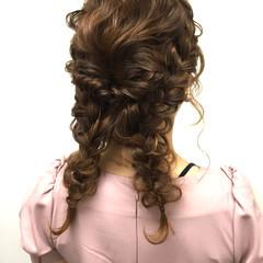 波ウェーブ 外国人風 セミロング ナチュラル ヘアスタイルや髪型の写真・画像