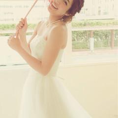 ヘアアレンジ 外国人風 大人かわいい フェミニン ヘアスタイルや髪型の写真・画像