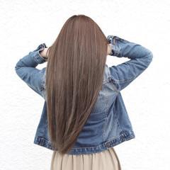 ナチュラル ハイライト ロング 透明感 ヘアスタイルや髪型の写真・画像