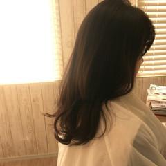 フェミニン ゆるふわ 暗髪 大人かわいい ヘアスタイルや髪型の写真・画像