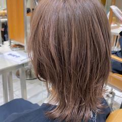 ショートヘア ナチュラル 大人かわいい ミディアム ヘアスタイルや髪型の写真・画像