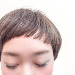 ストリート 大人女子 ハイライト アッシュ ヘアスタイルや髪型の写真・画像