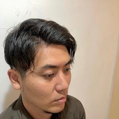 ショート 刈り上げ ナチュラル ツーブロック ヘアスタイルや髪型の写真・画像