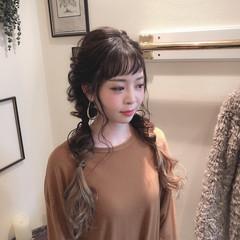 大人かわいい 外国人風 ガーリー ヘアアレンジ ヘアスタイルや髪型の写真・画像