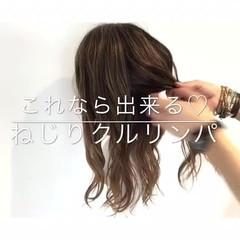 デート オフィス ヘアアレンジ 女子会 ヘアスタイルや髪型の写真・画像