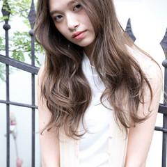 ゆるふわ ガーリー フェミニン ロング ヘアスタイルや髪型の写真・画像