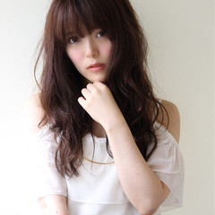 波ウェーブ ナチュラル モテ髪 ヘアアレンジ ヘアスタイルや髪型の写真・画像