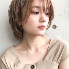 アンニュイほつれヘア ショート ショートボブ デート ヘアスタイルや髪型の写真・画像