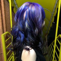 ゆるふわセット ブリーチ必須 マニパニ 特殊カラー ヘアスタイルや髪型の写真・画像