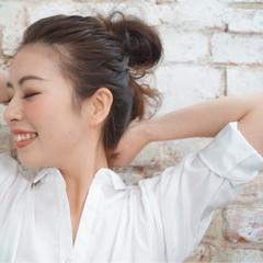 ヘアアレンジ ロング お団子 大人女子 ヘアスタイルや髪型の写真・画像