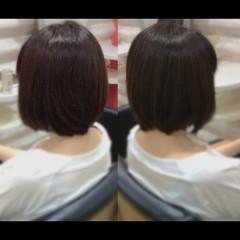 ボブ 髪質改善トリートメント 髪質改善カラー 髪質改善 ヘアスタイルや髪型の写真・画像