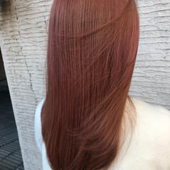 ベリーピンク ピンク ナチュラル 外国人風カラー ヘアスタイルや髪型の写真・画像