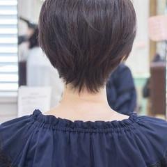 ショートヘア ショートカット ショート 前下がりショート ヘアスタイルや髪型の写真・画像