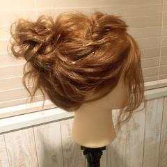 セミロング ゆるふわ ショート ヘアアクセ ヘアスタイルや髪型の写真・画像