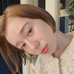 ミニボブ ボブ モード 抜け感 ヘアスタイルや髪型の写真・画像