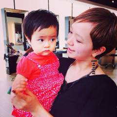 子供 かわいい 外国人風 ショート ヘアスタイルや髪型の写真・画像
