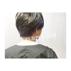 マッシュ 無造作 坊主 アッシュ ヘアスタイルや髪型の写真・画像