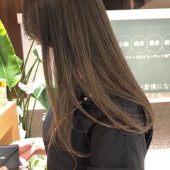 ベリーショート オリーブベージュ ロング ショートボブ ヘアスタイルや髪型の写真・画像