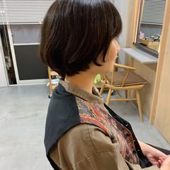 マッシュヘア ナチュラル ショート マッシュショート ヘアスタイルや髪型の写真・画像