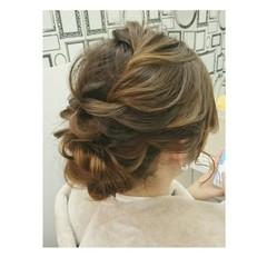 ロング フェミニン ヘアアレンジ 大人かわいい ヘアスタイルや髪型の写真・画像