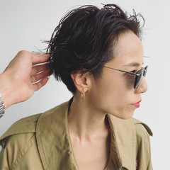 大人かわいい 黒髪 外国人風 パーマ ヘアスタイルや髪型の写真・画像